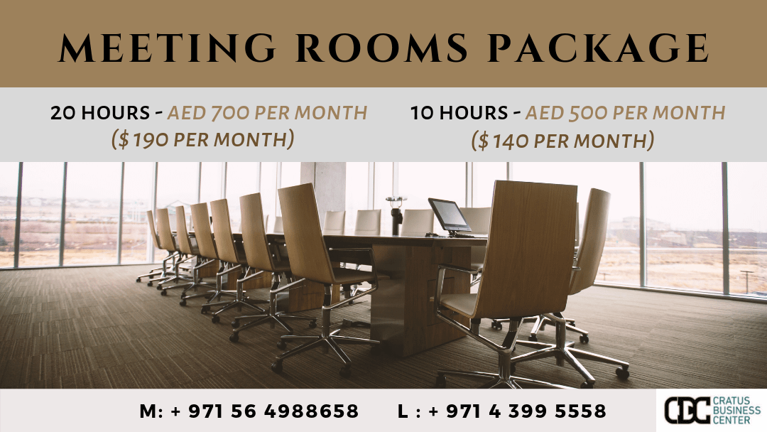 Meeting Room In Dubai For Rent